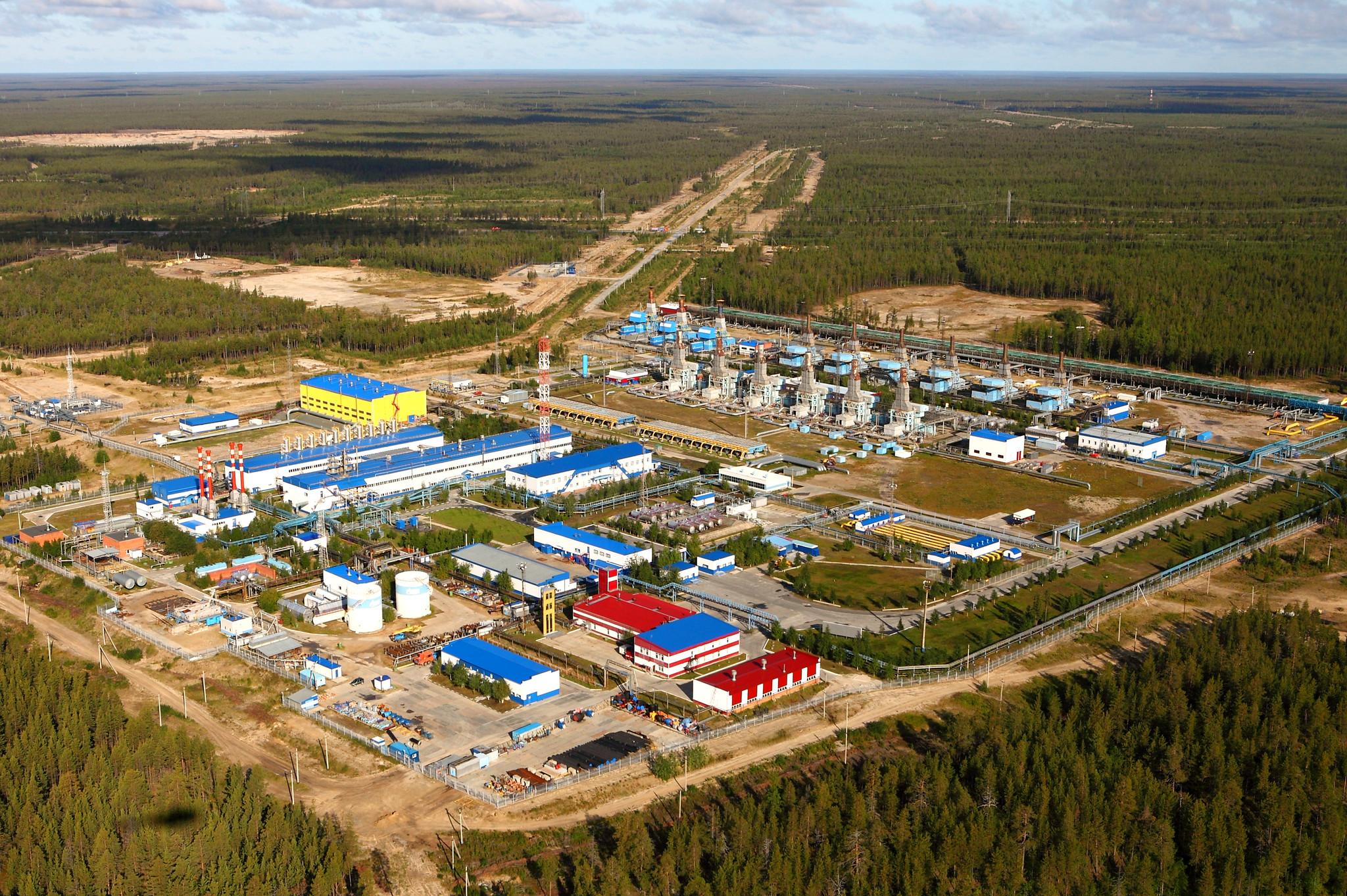Комсомольский газовый промысел