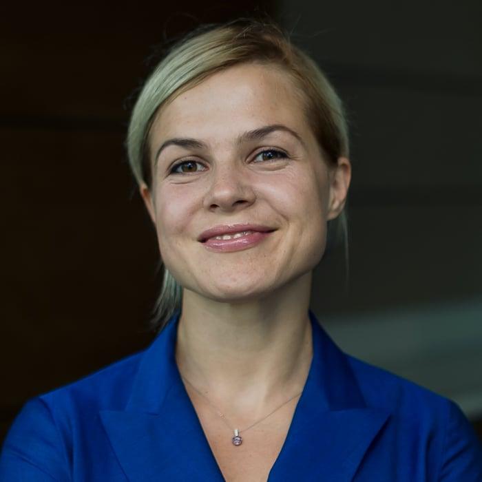 Наталья Роменская ВТБ sq