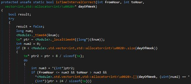 6_Функция Tyupkin по проверке времени запуска