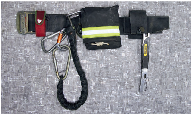 Современная комплектация пожарного пояса