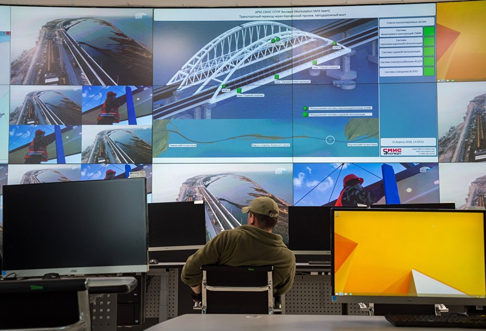 Технологии цифровизации Крымского моста