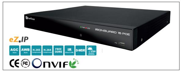 NVR нового поколения EverFocus IRONGUARD