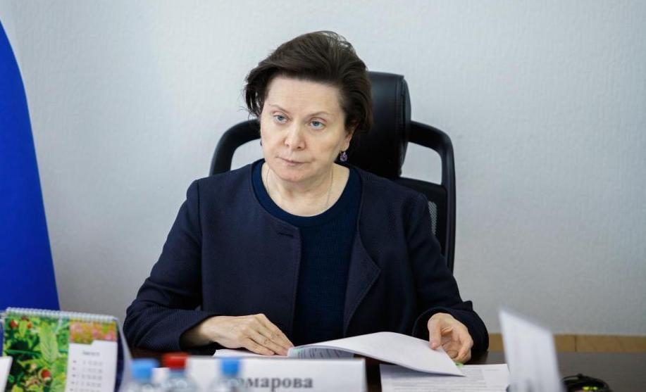 Наталья Комарова, губернатор Югры