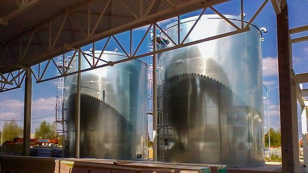 Резервуары пожарного запаса воды FLAMAX