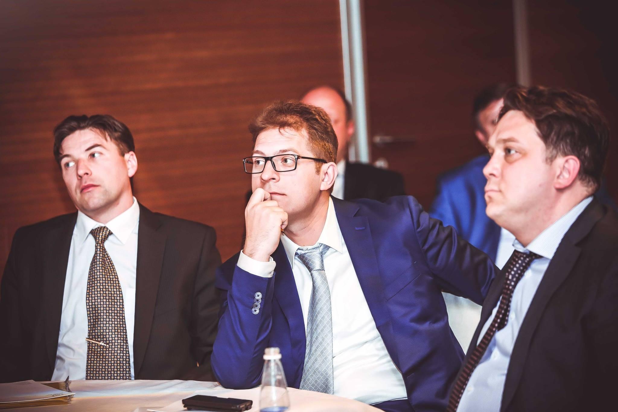 Встреча с руководителями банков