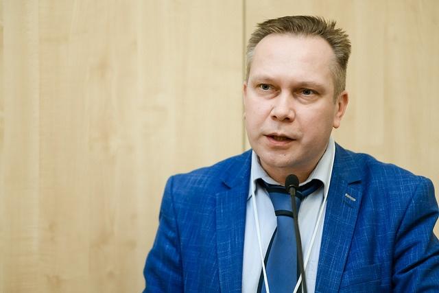 На фото: Андрей Макеев, МЧС России