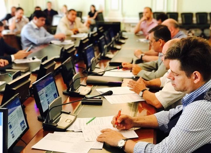 Брифинг по задачам и специфике ж/д объектов на закрытой встрече поставщиков с руководителями Росжелдора и РЖД