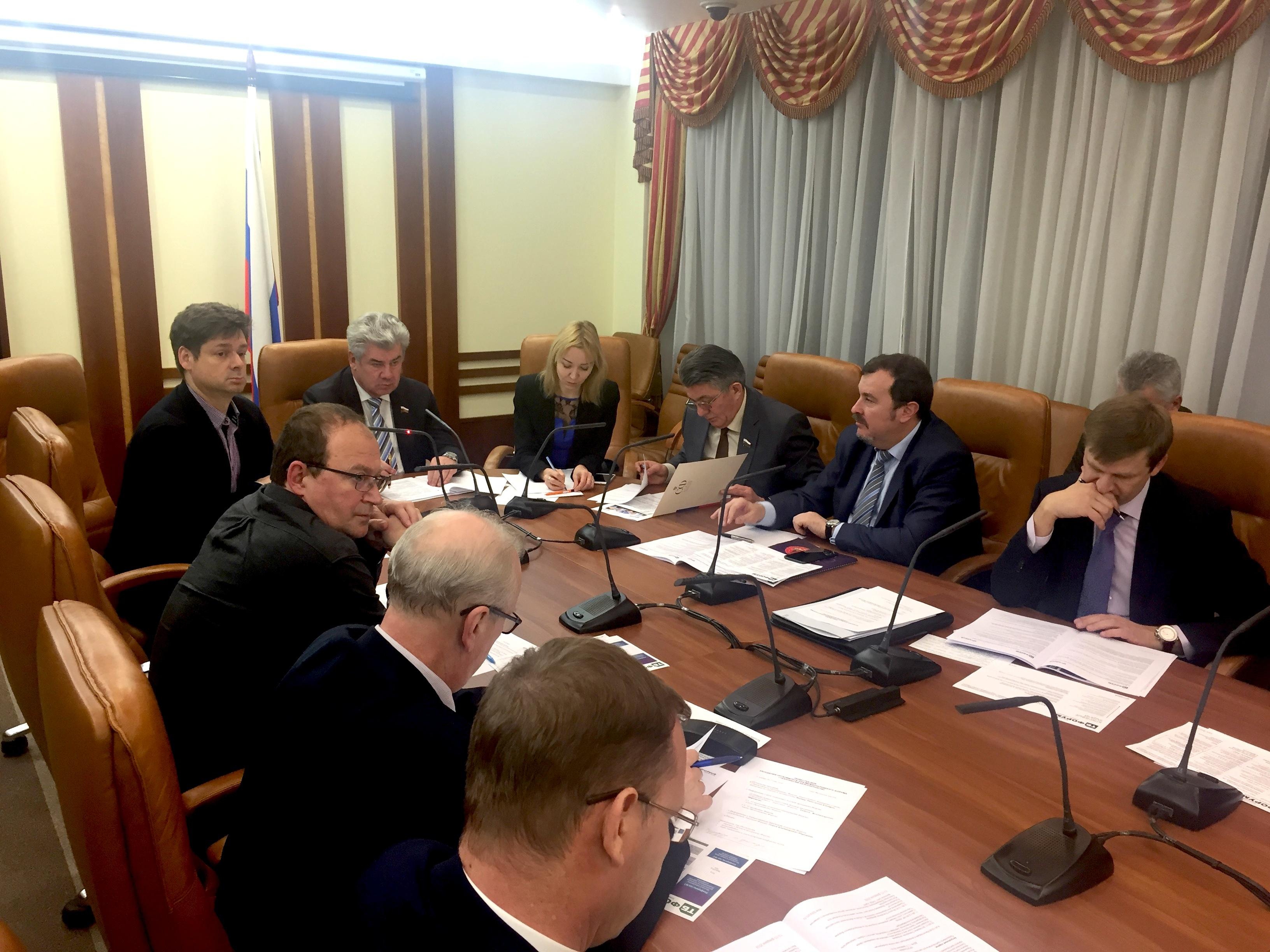 В Совете Федерации обсудили готовность 10 VIP-мероприятий деловой программы ТБ Форума 2018